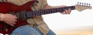 Fretlight guitar