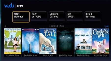 Movies on Vudu