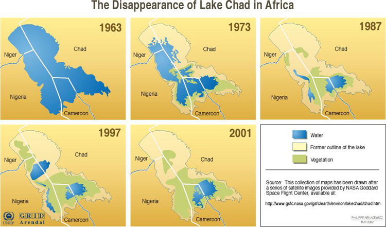 The Disappearance of Lake Chad