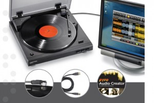 "Audito Technica's ""AT-LP2D-USB LP-to-Digital Recording System"""