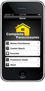 Complete Foreclosures iPhone (screenshot)