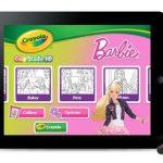 crayola barbie
