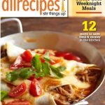 All Recipes dot com magazine