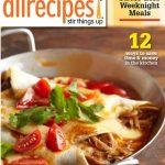 All Recipes dot com magazine