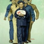 Normal Rockwell painting on amazon -