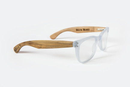 printing in wood to make a glasses frame