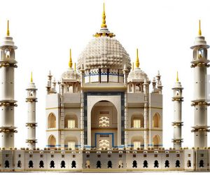 The Taj Mahal  done in Legos