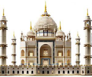 The Taj Mahal  done in Legos