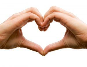 hands as heart