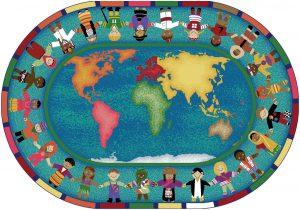 hands around the world clipart