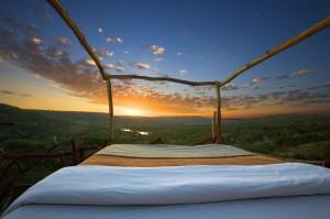 Kenyan hotel room