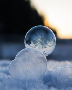 website -frozen bubbles