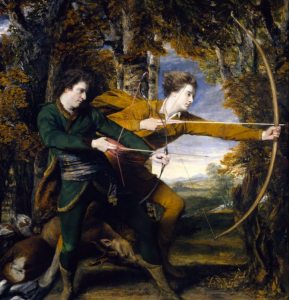 The Archers, by Sir Joshua Reynolds