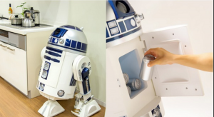 R2-D2 Moving Refrigerator