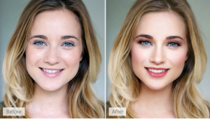 Portrait Pro before and after
