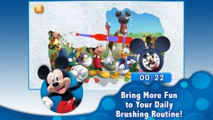 Disney Magic Timer dental app