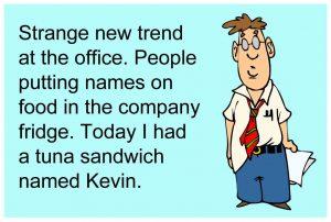 1 sandwich named kevin