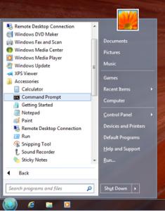 Going back to the Windows 7 start menu