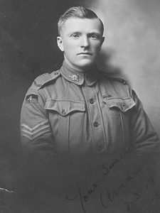 Archie Barwick -virtual chat with WWI soldier